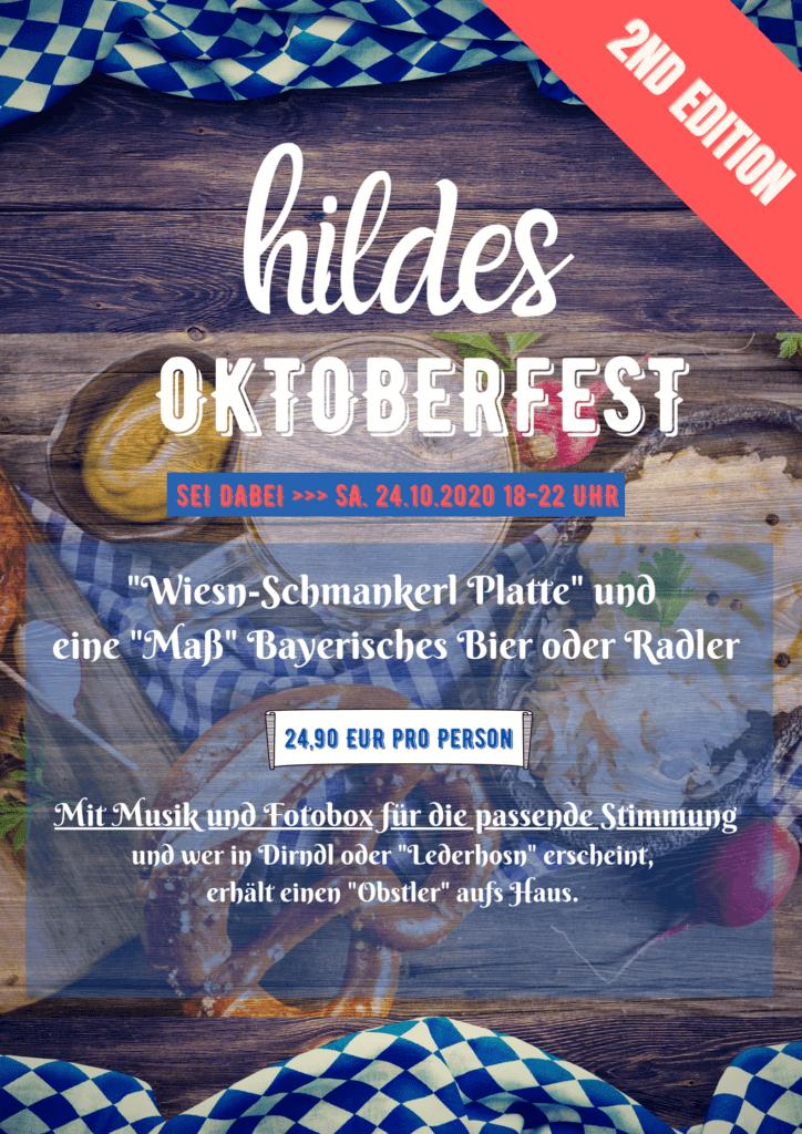 Poster Oktoberfest 24.10.2020